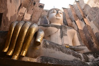 Imagen de Wat Si Chum. travel nature thailand bangkok culture buddhism temples chiangmai krabi lanna tempel sukhothai lampang kolanta ayutthaya reizen 2014 arps paularps afsdxnikkor18140mm