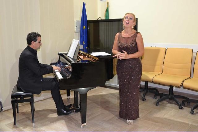 Il soprano Floriana Sicari