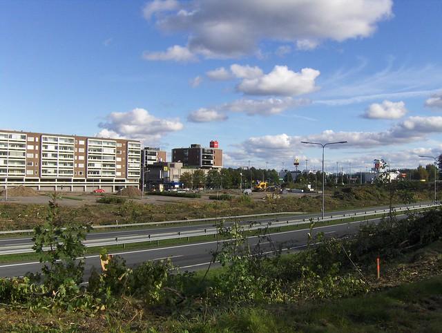 Hämeenlinnan moottoritiekate ja Goodman-kauppakeskus: Työmaatilanne 11.9.2011 - kuva 4