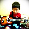 dipa playing #ukulele #myboy