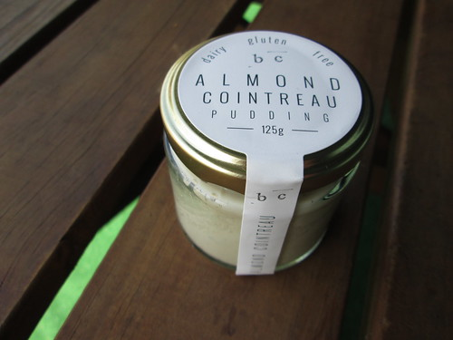 almond cointreau pudding