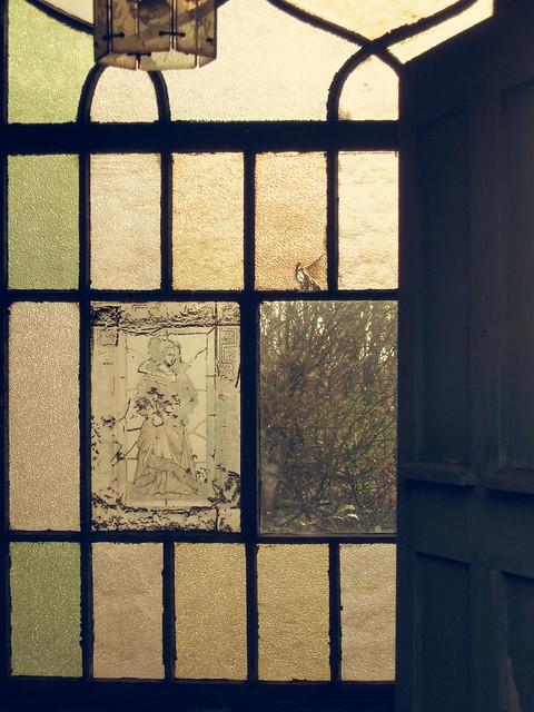 Glasfrau