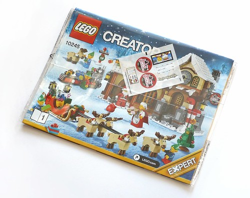 LEGO 10245 Santa's Workshop box06