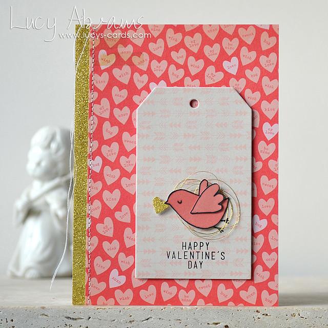Valentine's Bird by Lucy Abrams