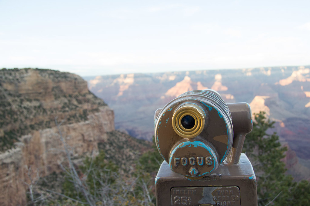 viewing cameras at the grand canyon