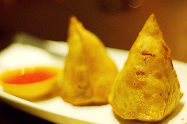 Indian food - Samosas