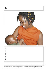 Card 4 - Continue Breastfeeding blank