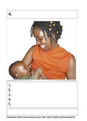 Card 4 - Continue Breastfeeding blank