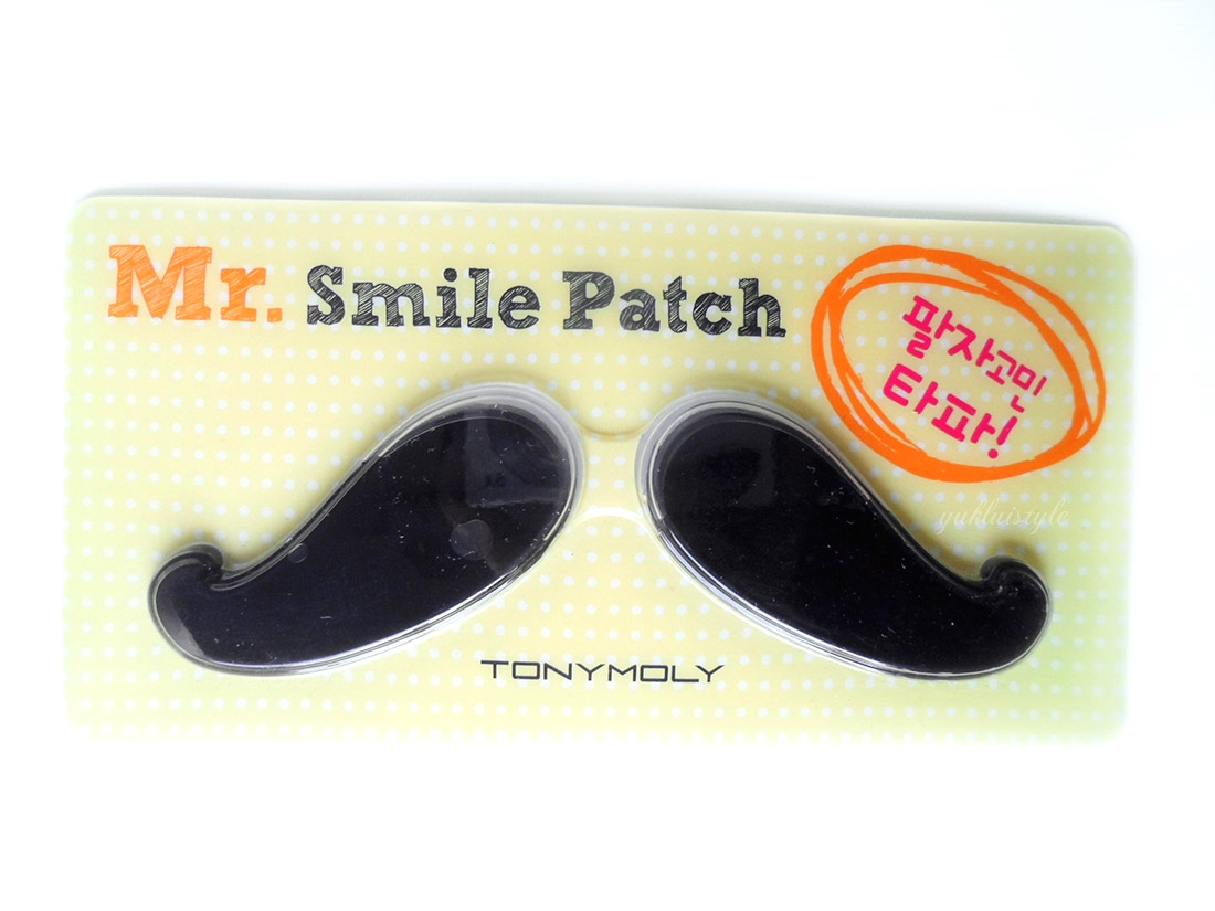 Tony Moly Mr. Smile Patch review