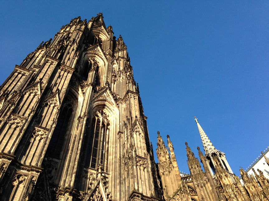 The DOM in Cologne, Germany.