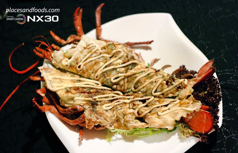fu rin lobster teppanyaki