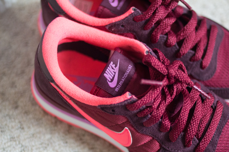 Nike Internationalist detail
