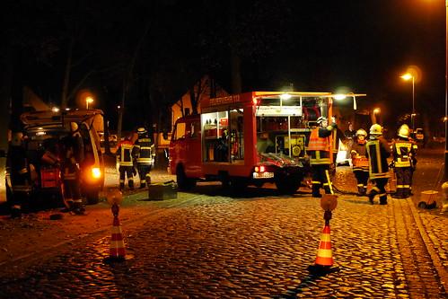 Einsatzübung Feuerwehr Ragow #5