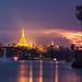 Shwedagon Pagoda by espinozr