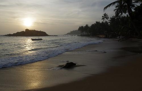 trip winter sunset vacation beach evening sri lanka srilanka ceylon mirissa