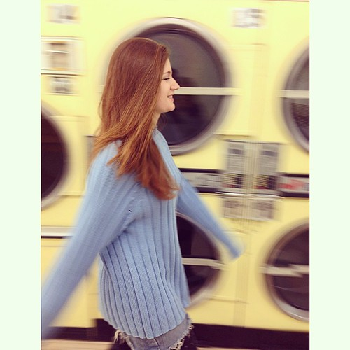 Laundromat shoot