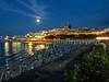Full moon (one of the super moons) over Otranto