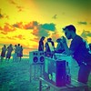 """Meanwhile in the Dominican Republic - """"Multi BoomCase sunrise beach party"""" -#BoomCase #Holidaze #MusicAnywhere"""