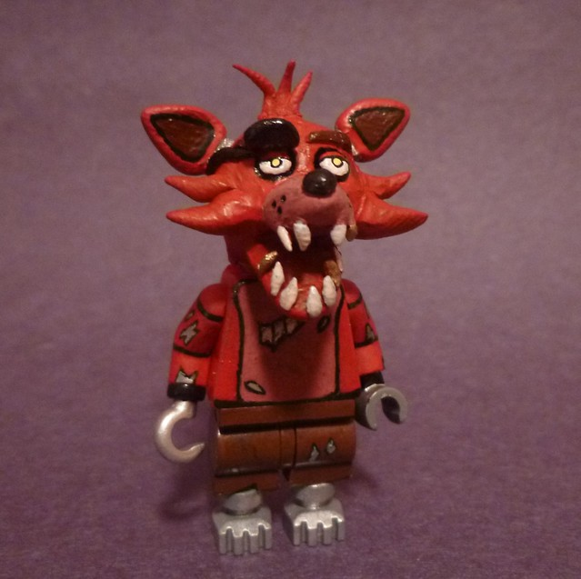 Lego five nights at freddy s foxy flickr photo sharing