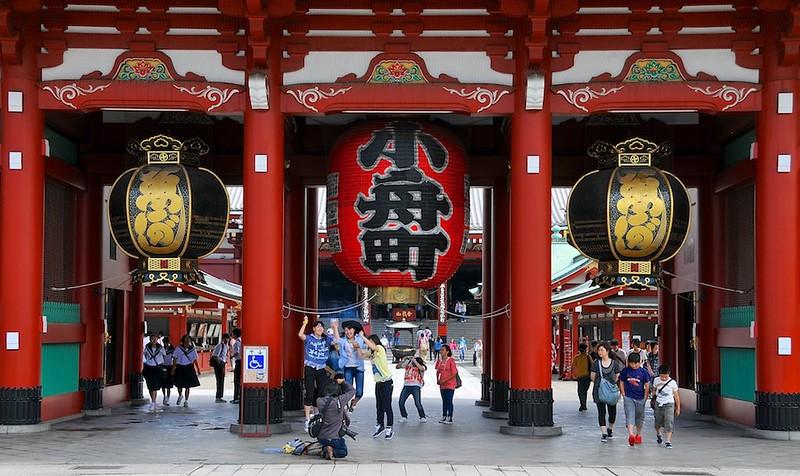 Asakusa inner gate