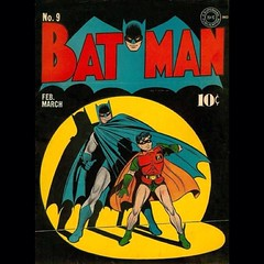 #Batman and #Robin, dynamic duo. #Comics