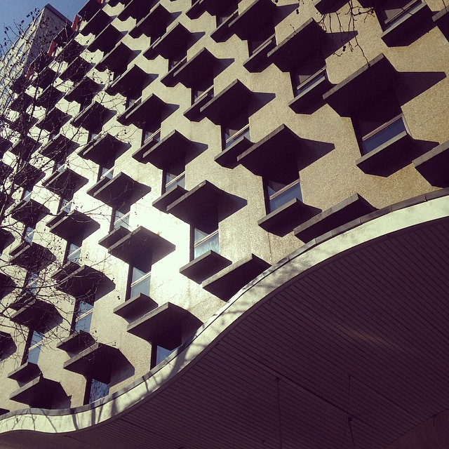 Post #melbourne #australian #australia #architecture #patterniseverywhere #midcentury #modernism #modernarchitecture