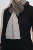 purrfect thanks garterstitch scarf