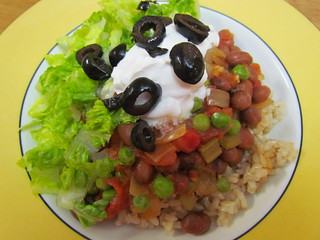 Hot Salsa Pinto Beans and Rice
