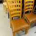 Natural pine kitchen chair