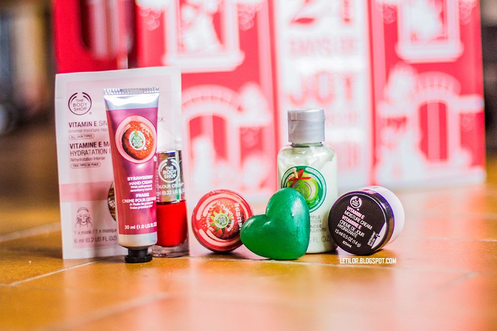 The body shop calendrier avent