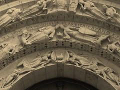 Aulnay, église Saint Pierre de la Tour, patrimoine mondial humanité