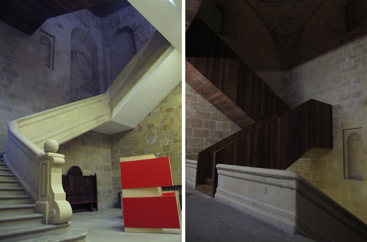 museo san telmo_escalera convento_cúpula_nietosobejano_obra nueva_torreón