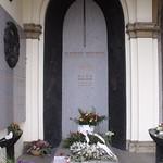 Am Grab von Václav Havel