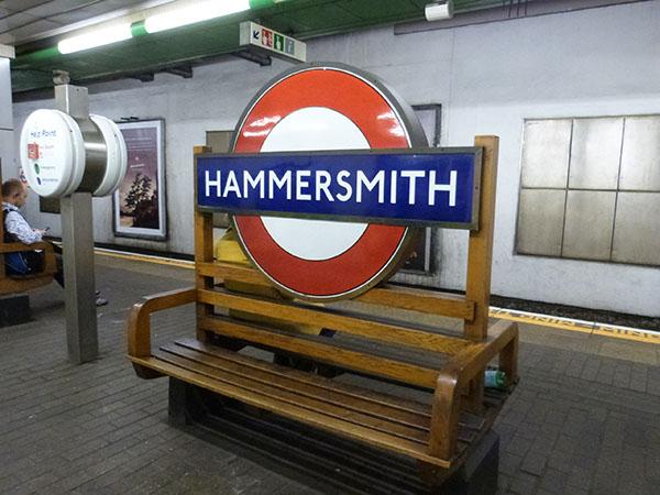 metro hammersmith