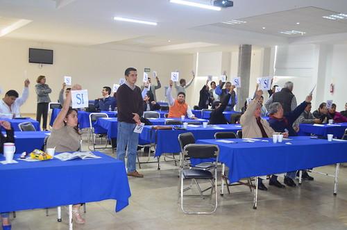 Reunión sobre alianzas municipales