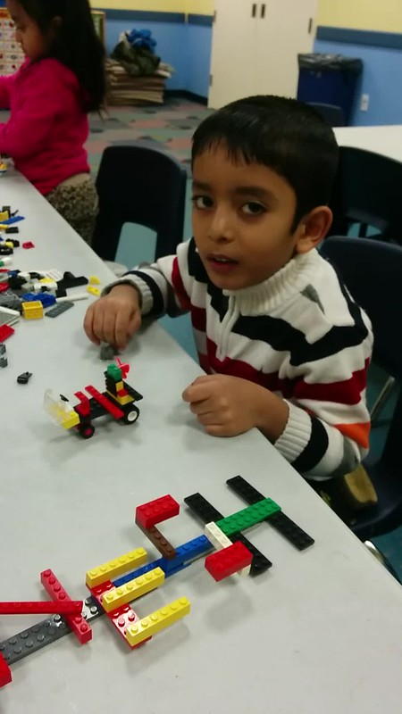 LEGO Club January 2015: Our Names