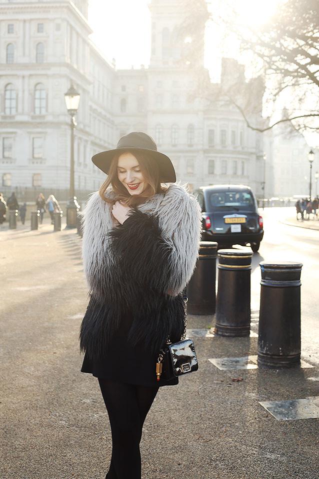 Faux Fur Yeti Coat Topshop What Olivia Did
