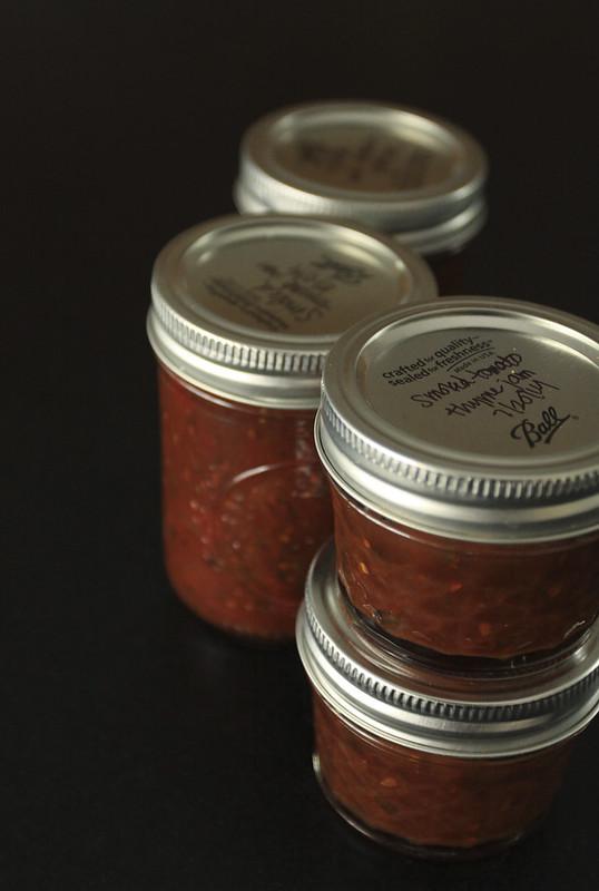 Smoked Tomato Thyme Jam