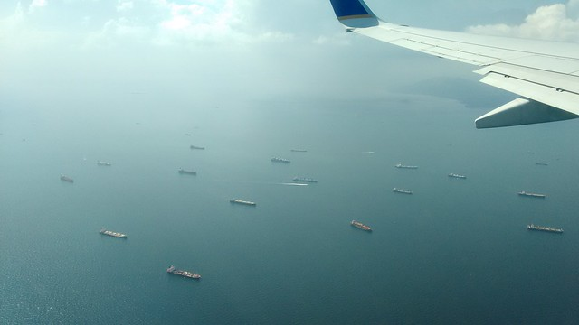 Flying Over the Panama Canal