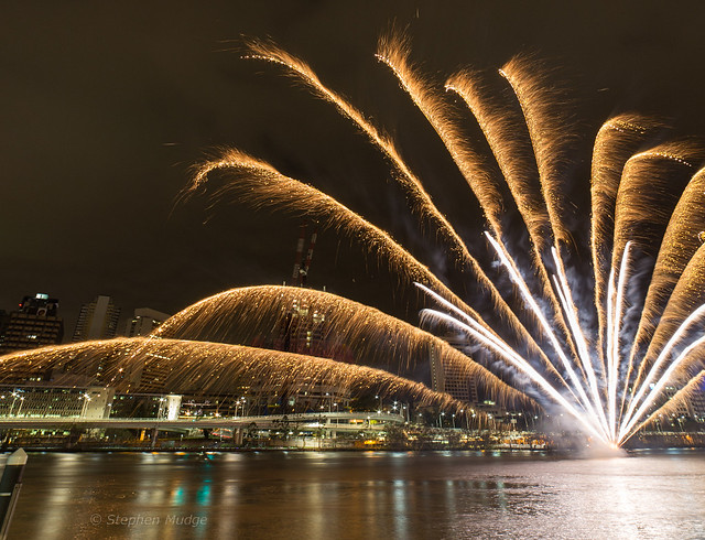 Southbank Christmas Fireworks 2