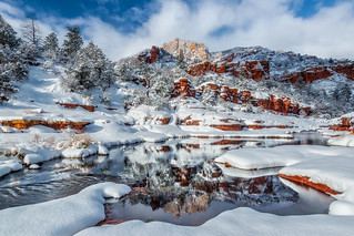 Slide Rock Reflections