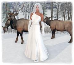 SAS - Neige White Gown