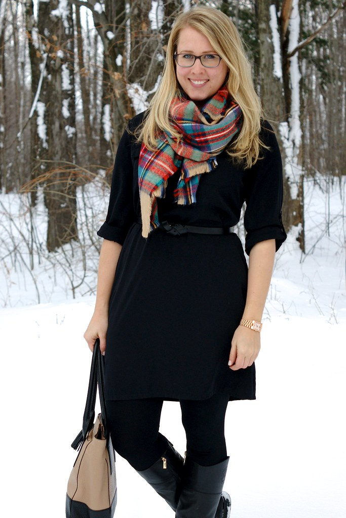 outfit for when it is snowing