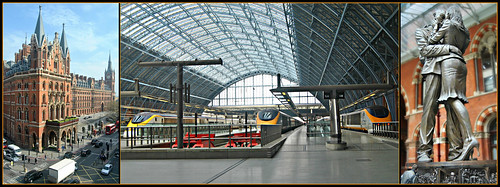 St Pancras International Station London