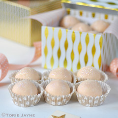 White chocolate & Orange truffles