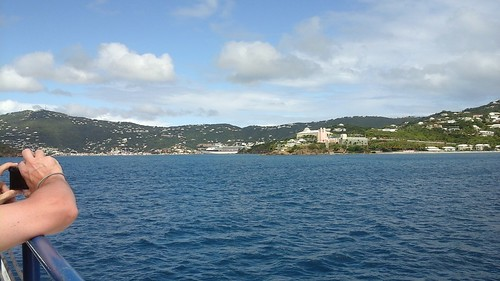 Charlotte Amalie in St Thomas - no thanks - give me protected lands!