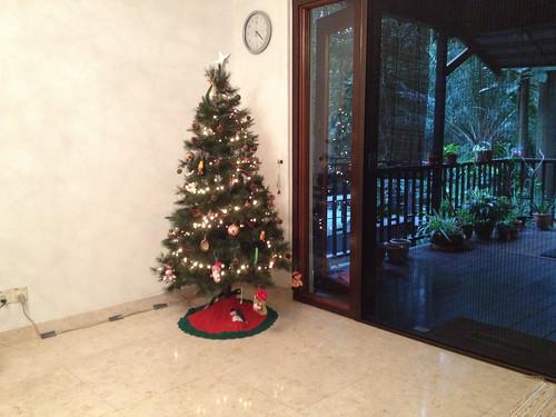 First Christmas tree - Malaysia