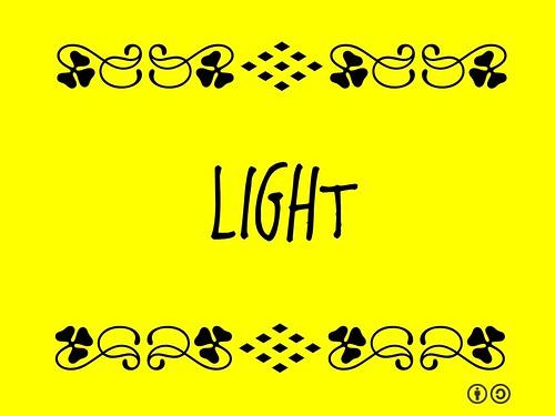 Buzzword Bingo: Light