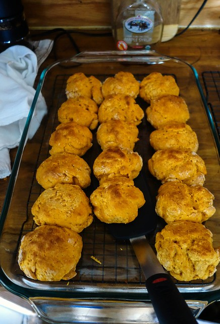 Sweet potato biscuits | Flickr - Photo Sharing!