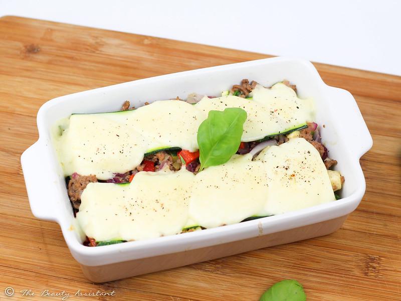 gehaktschotel met mozzarella